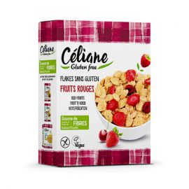 Céréales fruits rouges sans gluten - CELIANE (300g)