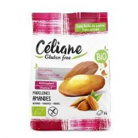 Madeleines amande sans gluten X6 BIO - CELIANE (180g) lppr 2.23€