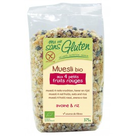 Muesli 4-fruits-rouges sans gluten BIO - MA-VIE-SG (375g)