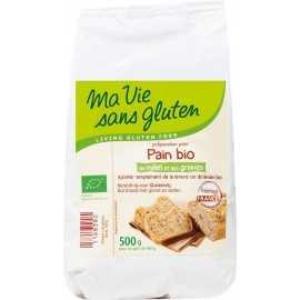 Mixpain-aux-graines sans gluten BIO - MA-VIE-SG (500g) lppr 2.25€