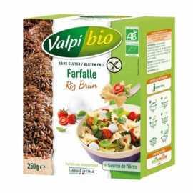 Farfalle riz-brun sans gluten BIO - VALPIBIO (250g) lppr 1.40€