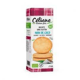 Sablés noix-de-coco sans gluten BIO - CELIANE (150g) lppr 1.91€