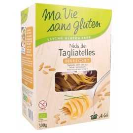 MA-VIE-SG - Nids de tagliatelle 100% riz complet (300 g)