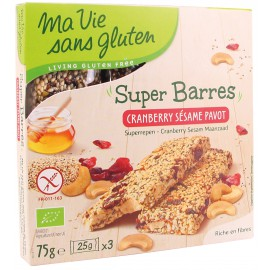 MA-VIE-SG - Muesli 4 fruits rouges BIO (375 g)