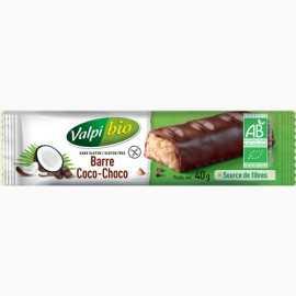 Barre coco-choco sans gluten BIO - VALPIBIO (40g)