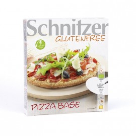 Pizza base sans gluten BIO - SCHNITZER (100g) lppr 0.48€