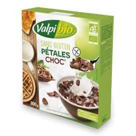 Pétales chocolat sans gluten BIO - VALPIBIO (275g)