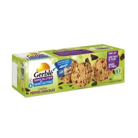 Cookies pépites-choc sans gluten - ALLERGO (150g) lppr 1.91€