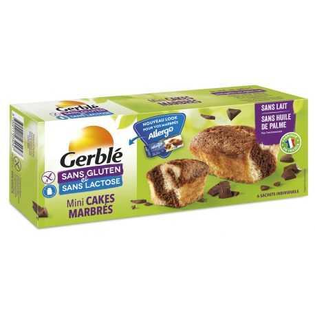 Mini-marbrés sans gluten X6 - GERBLE (200g) lppr 2.54€