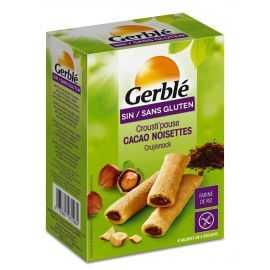 Biscuits fourrés cacao-noisette sans gluten CROUSTI-PAUSE - GERBLE (125g) lppr 1.59€