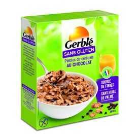 Pétales céréales-cacao sans gluten - GERBLE (300g)