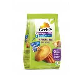 Madeleines aux oeufs sans gluten - GERBLE (200g) lppr 2.54€