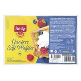 Gaufres sans gluten natures X4 - SCHAR (100g) lppr 1.27€
