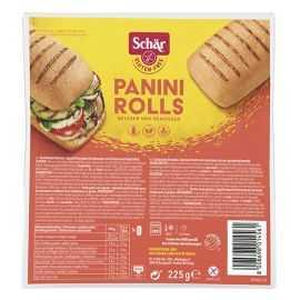 Petits pains sans gluten X3 PANINI-ROLLS - SCHAR (225g) lppr 0.96€