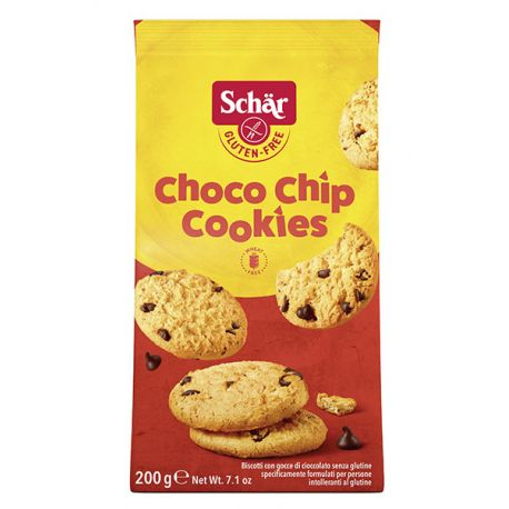 Cookies sans gluten pépites choco - SCHAR (200g) lppr 2.54€