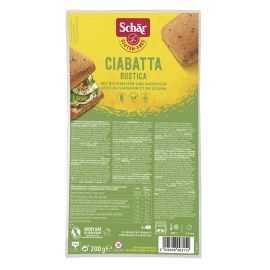 Ciabatta moelleux-céréales sans gluten X4 - SCHAR (200g) lppr 0.96€