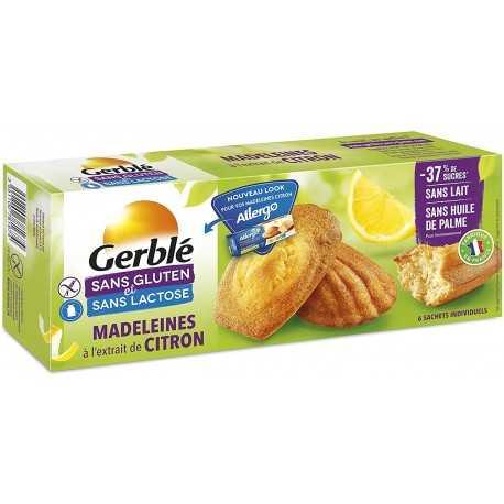ALLERGO - Madeleines au citron X6 (180 g) lppr 2.23e