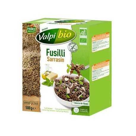 Fusilli sarrasin sans gluten BIO - VALPIBIO (500g) lppr 2.80€