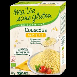 Couscous maïs-riz sans gluten BIO - MA-VIE-SG (375g) lppr 1.40€