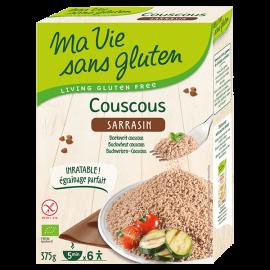 Couscous sarrasin sans gluten BIO - MA-VIE-SG (375g) lppr 1.40€