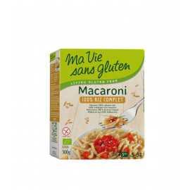 Macaroni riz-complet sans gluten BIO - MA-VIE-SG (500g) lppr 2.80€