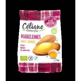 Madeleines aux oeufs sans gluten BIO X6 - CELIANE (180g) lppr 2.23€