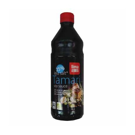 Sauce soja sans gluten pauvre-en-sel BIO - LIMA (25cl)
