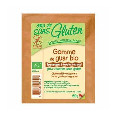 Gomme-de-guar sans gluten BIO - MA-VIE-SG (60g)