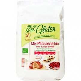 Mix pâtisserie sans gluten BIO - MA-VIE-SG (500g) lppr 2.25€