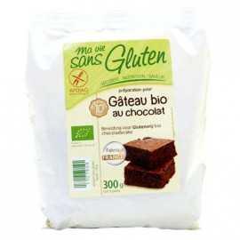 Mix gâteau-chocolat sans gluten BIO - MA-VIE-SG (300g) lppr 0.45€