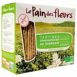 PAIN-D-FLEURS - Toasts sarrasin BIO (150 g) lppr 0.72e