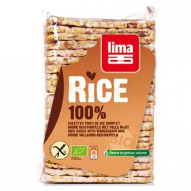 Galettes fines de riz-complet BIO - LIMA (130g)