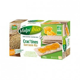 Cractine sarrasin-riz BIO - VALPIBIO (250g) lppr 1.20€