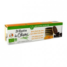 CELIANE - Biscuits orange nappé chocolat noir bio (150 g) lppr 1.91e