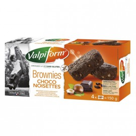 Brownies choco-noisette sans gluten - VALPIFORM (150g) lppr 1.91€