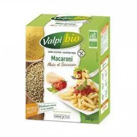 Macaroni maïs-sarrasin sans gluten BIO - VALPIBIO (500g) lppr 2.80€