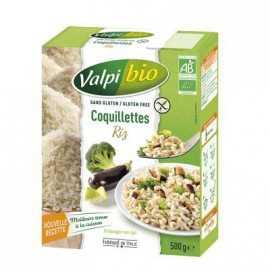 VALPIBIO - Coquillettes riz BIO (500 g) lppr 2.80e