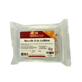 GLUTABYE - Biscuits cuillere (70 g) lppr 0.64e