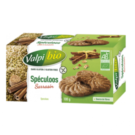 Spéculoos sans gluten BIO - VALPIBIO (100g) lppr 1.27€