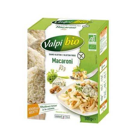VALPIBIO - Macaroni riz-complet BIO (500 g) lppr 2.80e