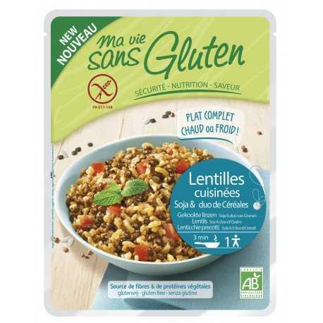 MA-VIE-SG - Céréales cuisinées lentilles-soja-riz-sarrasin BIO (220 g)