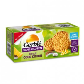 GERBLE - Biscuits coco-citron (120 g) lppr 1.46e