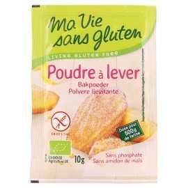 Poudre à lever sans gluten X4 BIO - MA-VIE-SG (40g)