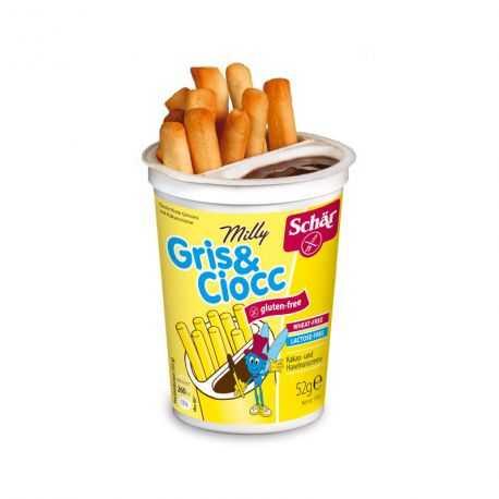 SCHAR - GRIS-CIOCC grissini et pâte-cacao (52 g) lppr 0.64e