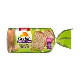 Pain de mie céréales-graines sans gluten - GERBLE (400g) lppr 1.92€