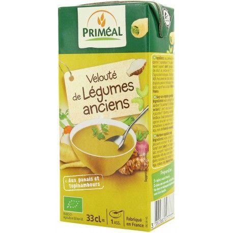 PRIMEAL - Velouté légumes anciens BIO (33 cl)