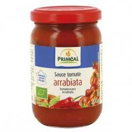 Sauce tomate arrabiata BIO - PRIMEAL (200g)