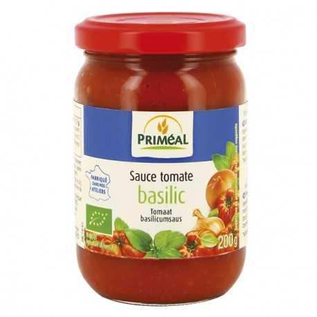 PRIMEAL - Sauce tomate basilic BIO (200 g)