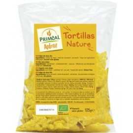 PRIMEAL - Tortillas chips-de-maïs nature BIO (125 g)