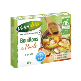 VALPIFORM - Bouillon de poule BIO (6 X 10 g)